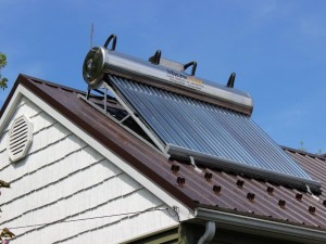 Thermal Solar Oil update at the Potters!